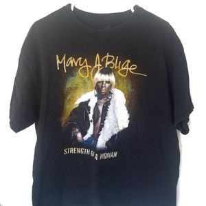 MARY J BLIGE Graphic Tour Tee